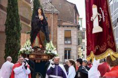 Encuentro de la Virgen de la Alegría y Jesús Resucitado. /Ana Isla