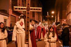 Vía Crucis de la Cofradía de la Flagelación del Señor. /Ana Isla