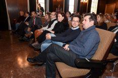 Homenaje público a Eloísa Álvarez, primera alcaldesa de Soria. /Ana Isla