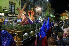 Vía Crucis de la Cofradía de las Caídas de Jesús. /Ana Isla