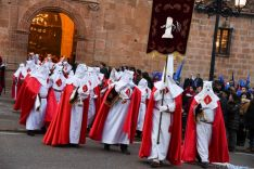 Procesión general de la Cofradía del Santo Entierro. /Ana Isla