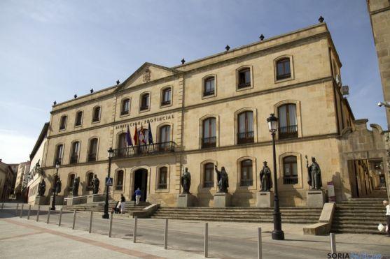 La Diputación soriana tiene hoy deuda cero, al igual que la de La Coruña.