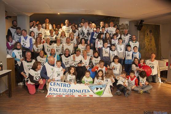 Participantes en el campeonato social del CES.