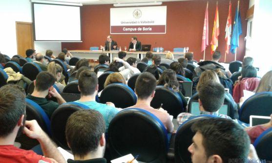 Participantes en la jornada del campus de Soria.