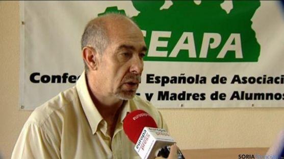 Jesús Salido, presidente de CEAPA.