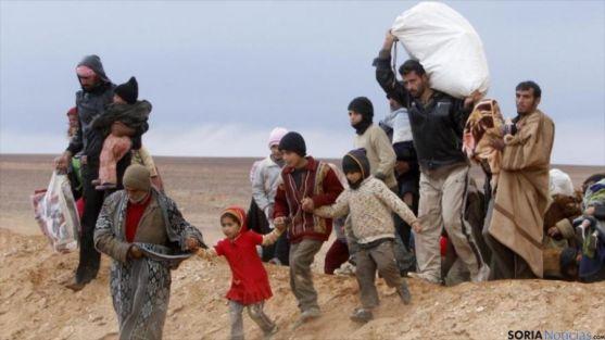 La guerra en Siria ha provocado millones de refugiados.