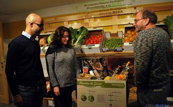 Huertos de Soria llevará sus productos fuera de la provincia.