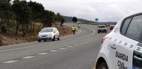 La Semana Santa es el periodo de mayor intensidad de tráfico en Soria.