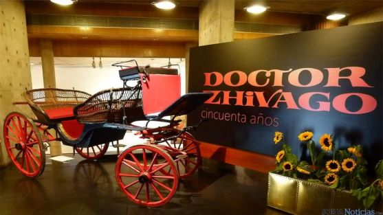 Carruaje utilizado en la película en Soria.