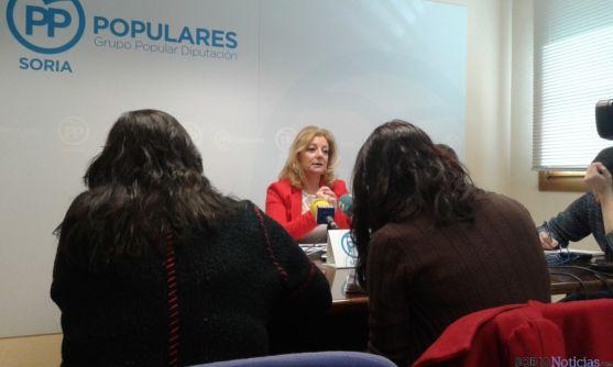 Ascensión Pérez, hoy en la rueda de prensa.
