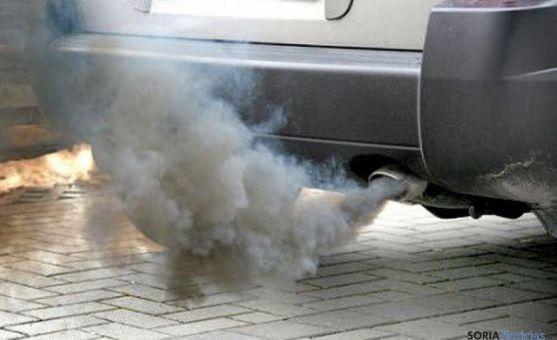 El tráfico de Madrid provoca el exceso de ozono en la atmósfera de la Comunidad.
