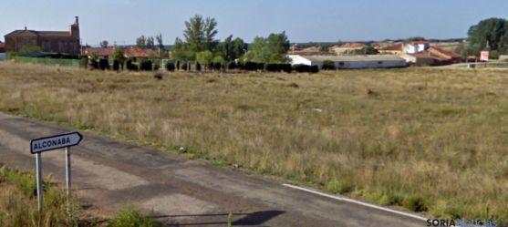 Carretera de acceso a Alconaba. / GM