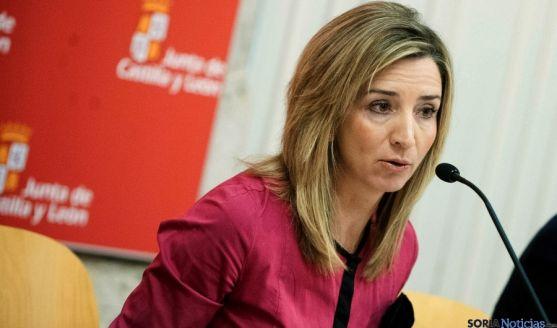 La consejera de Igualdad, Alicia García. / SN