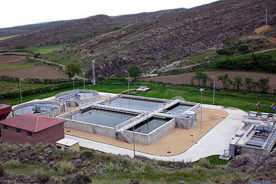 La depuradora de aguas en Ágreda. / SN