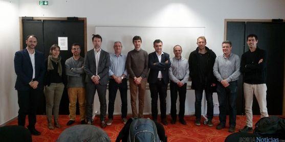 Representantes de entidades fundadoras este martes en Montpellier (Francia). / SN)
