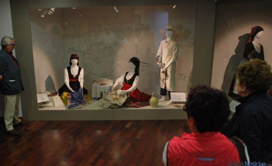 Una de las estancias del Museo del Traje, en Morón de Almazán./SN