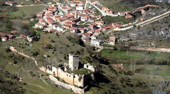 El castillo de Ucero, uno de los emblemas templarios de la provincia. / SN