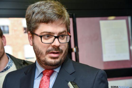 Fran Hervías, secretario de Organización de Ciudadanos. /Ana Isla