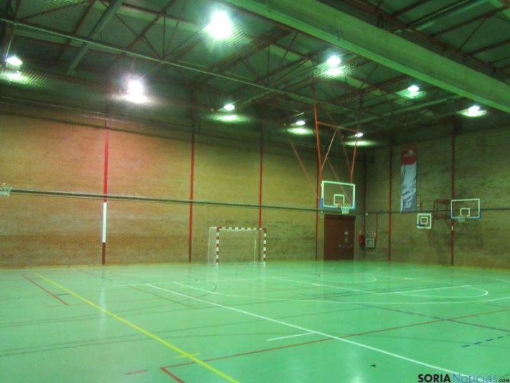 Polideportivo cubierto Río Esgueva, en Valladolid.