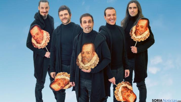 El grupo teatral Ron Lalá.