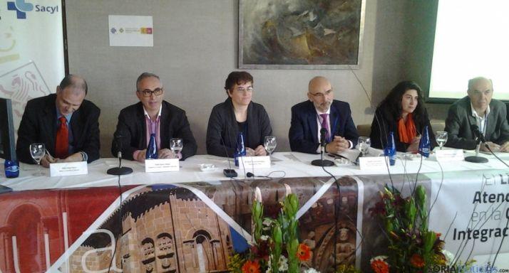 Una imagen del Aula SEDAP hoy jueves en Soria.
