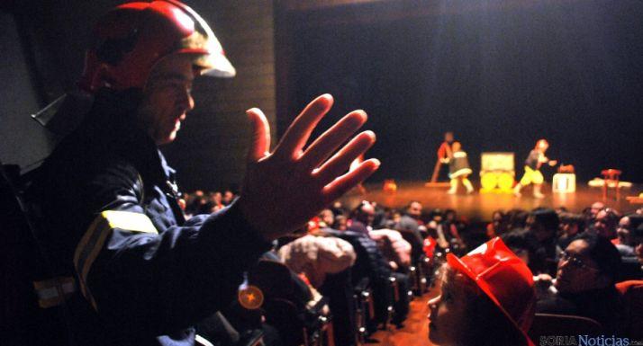 Una de las escenas vividas este sábado en La Audiencia. / SN