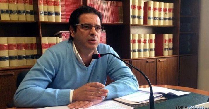 Javier Martín, presidente de la comisión de Vigilancia de la Contratación./SN