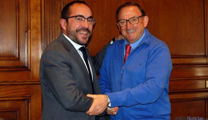 Luis Rey (izda.) y Francisco Rubio./Dip.