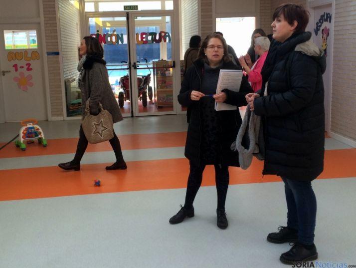 La edil Ana Alegre visita los dos centros municipales