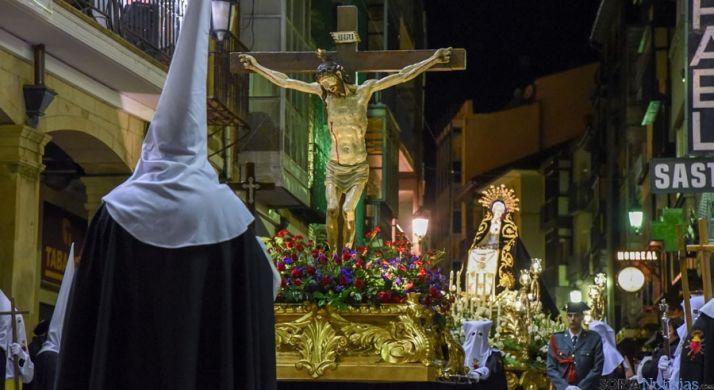 Procesión del Silencio, Cofradía de la Soledad. /Ana Isla