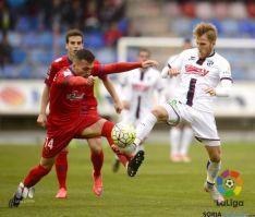 Foto 5 - Victoria del Numancia ante el Huesca que le permite alejarse del descenso (3-2)