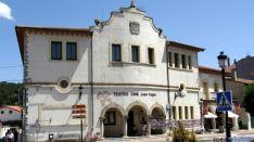 Teatro-cine dedicado a Yagüe en San Leonardo.