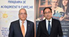 Modesto Fernández (izda.) y Manuel López. / Jta.