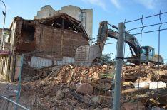 Imagen de las demoliciones. / SN