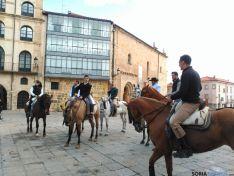 Sevillanas en la plaza Mayor
