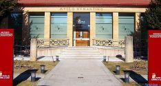 Entrada principal al Museo Numantino, en la capital soriana. / SN