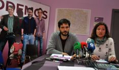 Jorge Ramiro y Ana Barca este jueves. / SN
