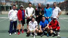 Los tenistas sorianos.