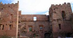 Interior del castillo de Yanguas. / Dip.
