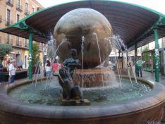 Escultura de Jíménez en Valladolid
