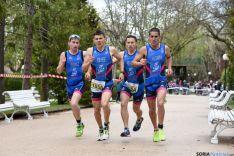 El Triatlón español en Soria. /Ana Isla