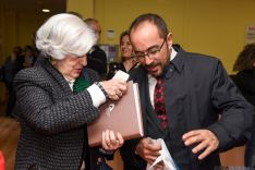 Francisca Sauquillo II Premio por las Libertades Luis Cabrejas. /Ana Isla