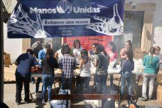 Operación bocata a favor de Manos Unidas. /Ana Isla