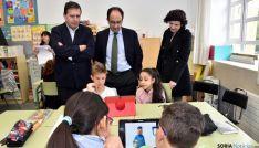 'Quedada por la seguridad y salud', en el CEIP La Arboleda./Jta