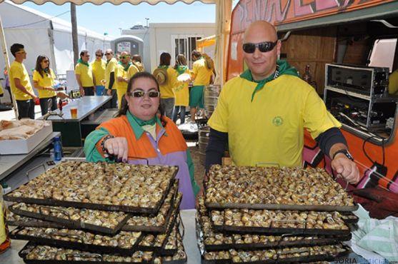 Durante la fiesta se consumen en Lérida 12 toneladas de caracoles.