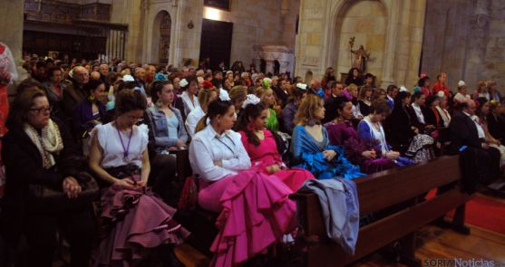 Imagen de la eucaristía este sábado./SN