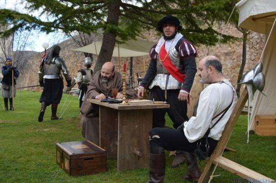 La asociación Oria Dauria representa la historia de Soria.
