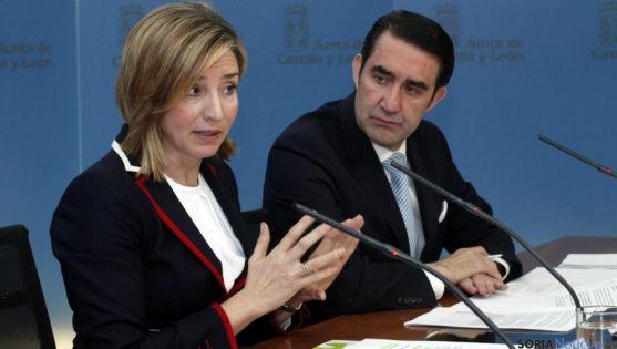 Alicia García y Juan Carlos Suárez Quiñones. / Jta.