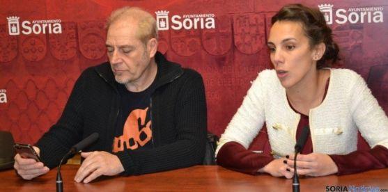 Inés Andrés y Javier Muñiz. / SN