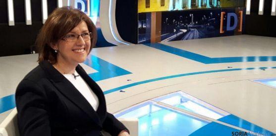 La senadora Marimar Angulo en TVE.